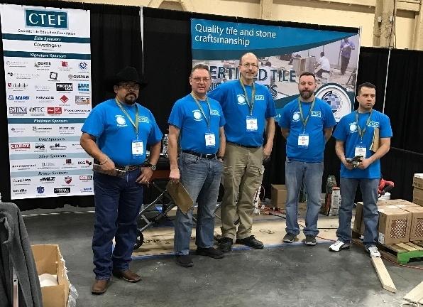 Regional Evaluators Expand Certified Tile Installer Program