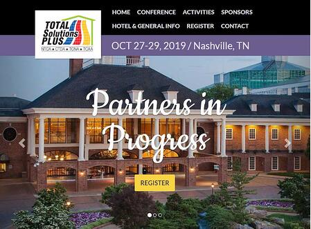 Total Solutions Plus 2019 in Nashville, TN from October 27-29